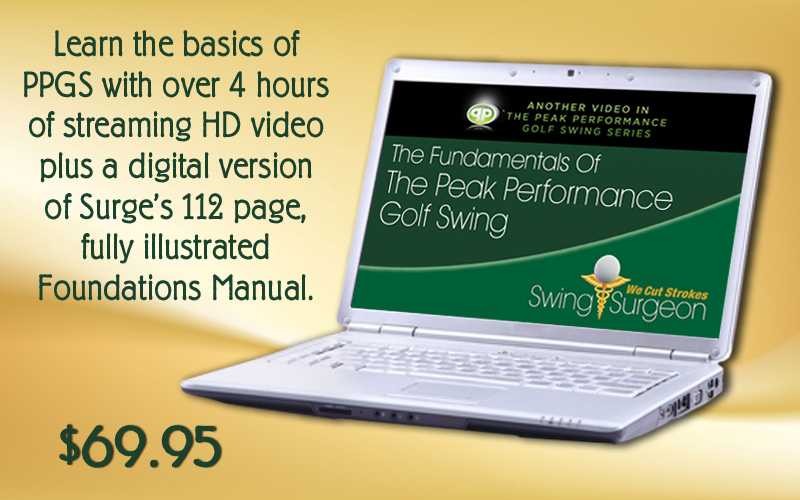 Fundamentals of the Peak Performance Golf Swing