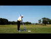 Don demonstrates a swing path change to work the ball